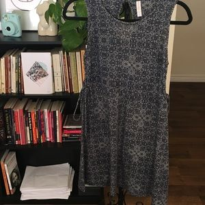 Pattern summer dress